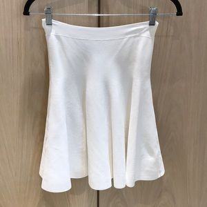 White BCBG Maxazria Skirt